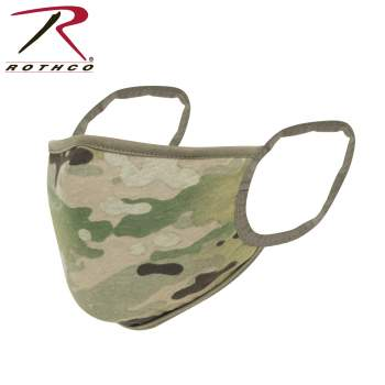 Rothco Reversible Reusable 3-Layer Face Mask, ocp, Operational Camouflage Pattern, multicam, face mask, facemask, face covering, PPE, ppe gear, rothco face mask, army face mask, military uniform, facecovering, mask, reversible mask, multicam face mask, reusable face mask, 3 layer face mask, face shield, face cover, half face mask, half facemask, reusable face mask, good face masks, face cover mask, earloop face mask, earloop facemask, earloop face covering, adjustable nose bridge, face mask for men, facemask for men, cool face masks, cool facemasks, best face mask for men, best facemask for men, mouth facemask, mouth face mask,