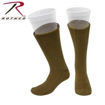 fleece liners, fleece boot liner, winter socks, outdoor socks, boot socks, fleece boot socks, cold weather boot liners, boot sock, sock, flece liner, boot sock liner,