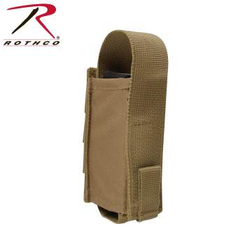 Rothco MOLLE Pepper Spray Pouch, MOLLE pepper spray holder, molle pepper spray holders, pepper spray holder, pepper spray holders, pepper spray, pepper spray holster, mace holder, mace holster, mace holders, mace holsters, pepper spray holsters, mace, self-defense spray, defense spray, law enforcement holster, law enforcement gear, duty gear, duty belt accessories, molle, molle pouches, molle attachments, molle gear, molle holster, molle accessories, tactical molle