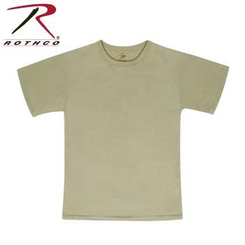 Moisture Wicking T-shirt/ Sand-off Color -10-pack