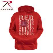 Rothco Concealed Carry R.E.D. (Remember Everyone Deployed) Hoodie, Rothco, Hoodie, Concealed Carry, Discreet Carry, High Performance Hoodie, moisture wicking hoodie, sweatshirt, sweater, RED, remember everyone deployed, RED apparel, remember everyone deployed