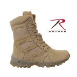 forced entry boot,tactical boots,military tactical boot,tactical army boots,tan tactical boots,military boot,SWAT Boot,Swat tactical boots,combat boots,8 inch,side zipper,steel shank,moisture wicking boot,deployment boot, wholesale military boot, rothco boot, boots, desert combat boots, tan combat boots,