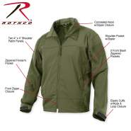 Rothco,Special Ops Soft Shell Tactical Jacket,soft shell jacket,special ops jacket,tactical ops jacket,tactical jacket,military jacket,outerwear,moisture wicking,tactical soft shell,shell coats,m-65 jacket,military coat,army jacket,black,jacket shell,softshell jacket,olive drab,coyote brown tactical jackets, tactical outerwear, military outerwear, softshell outerwear, soft shell coats, military coat, soft shell jacket, soft shell, windbreaker, windbreaker jacket, windbreaker jackets, tactical soft shell jacket