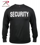 security t-shirt, security, security long sleeve t-shirt, security t-shirts, security t, security clothing, security gear, rothco security items, wholesale security clothing, long sleeve t-shirts, long sleeve tee's, security tee's, 2-Sided Long Sleeve T-Shirt, double sided security t-shirt, imprinted security t-shirt, two-sided imprinted security t-shirt, 2-sided Long sleeve T-shirt,