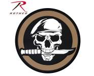 Rothco pvc skull/knife patch with hook back, Rothco skull/knife patch with hook back, Rothco skull/knife patch, skull/knife patch, skull/knife patch with hook back, pvc skull/knife patch, hook and loop, hook & loop, hook & loop patch, hook and loop patch, skull patch, skull patches, patch, patches, morale patch, morale patches, skull morale patch, tactical patches, tactical morale patches, skull morale patches, airsoft, airsoft patches, airsoft patch, airsoft morale patch, airsoft morale pathces, airsoft skull/knife patch, airsoft skull patch, airsoft knife patch, velcro airsoft patches, airsoft velcro patches,