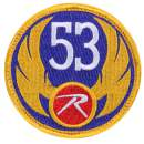 rothco wing morale patch, 53 morale patch, rothco 53 morale patch, rothco morale patches, Velcro patches, tactical Velcro patches, military Velcro patch, morale patches Velcro, military morale patches, molle patches, tactical morale patches, tactical patches, Velcro morale patch, airsoft patch, hook & loop patch, wing patch, gold patch