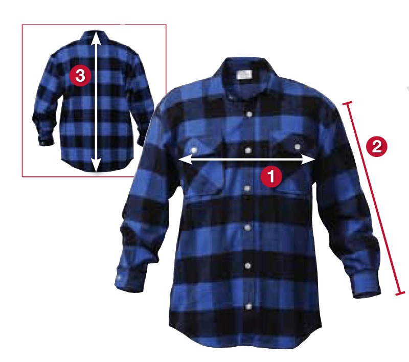 Rothco's Extra Heavyweight Buffalo Plaid Flannel Shirts