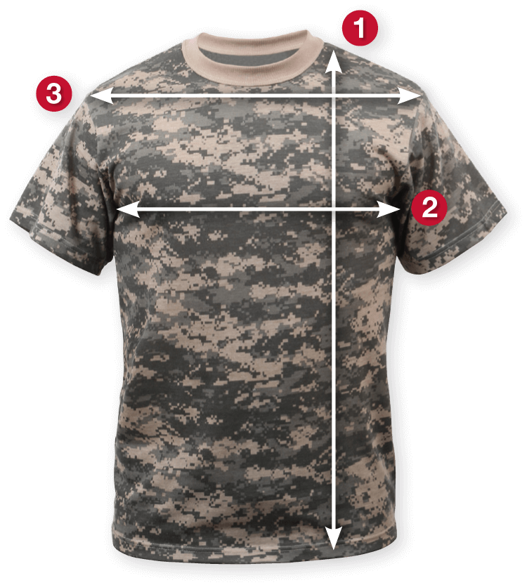 Rothco's Short Sleeve Kid's Military T-Shirt