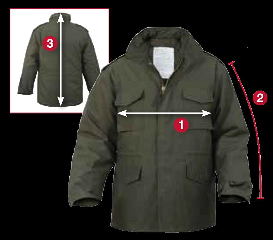 Rothco's M-65 Jackets