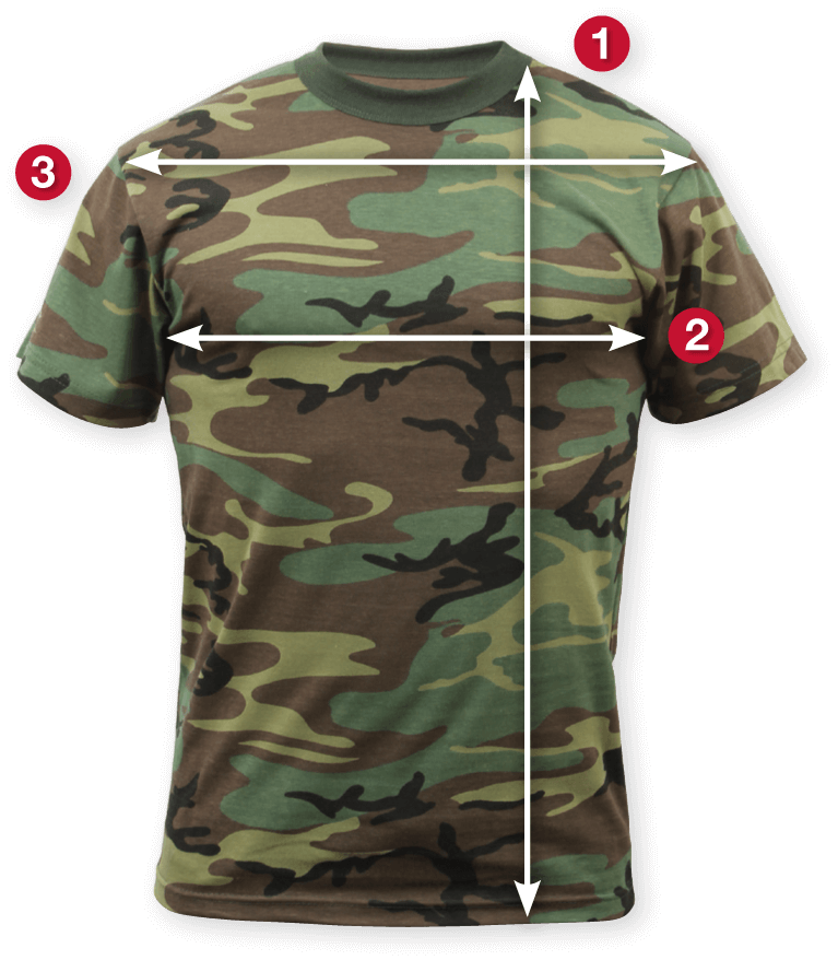 Rothco's Short Sleeve Military T-Shirt