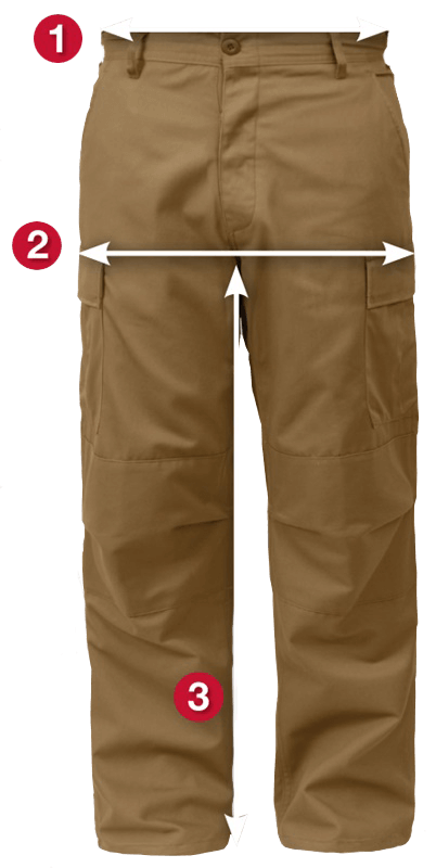 Rothco's Military BDU Fatigue Pants