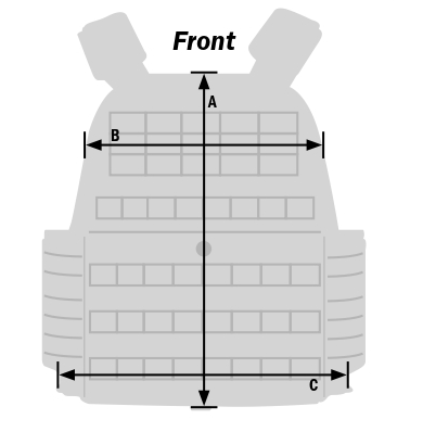 Rothco M.O.L.L.E. Plate Carrier Vest