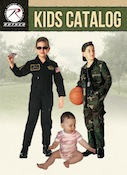 childrens' clothing, military clothing, army clothing