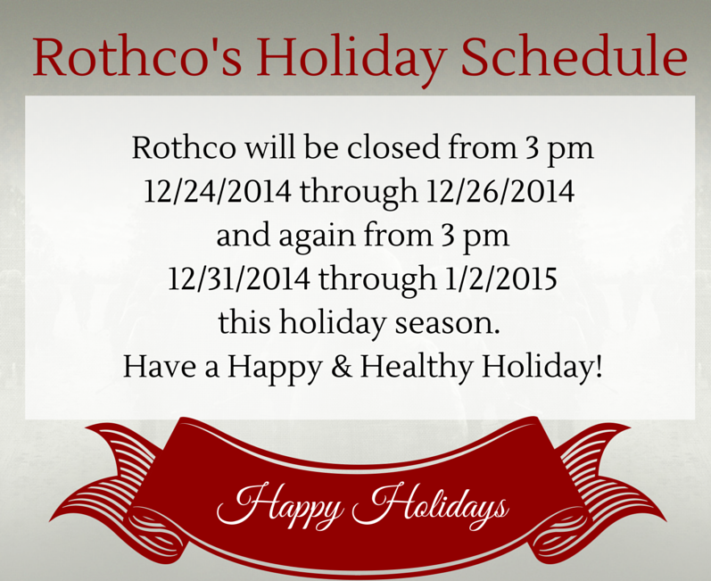Rothco Holiday Measage