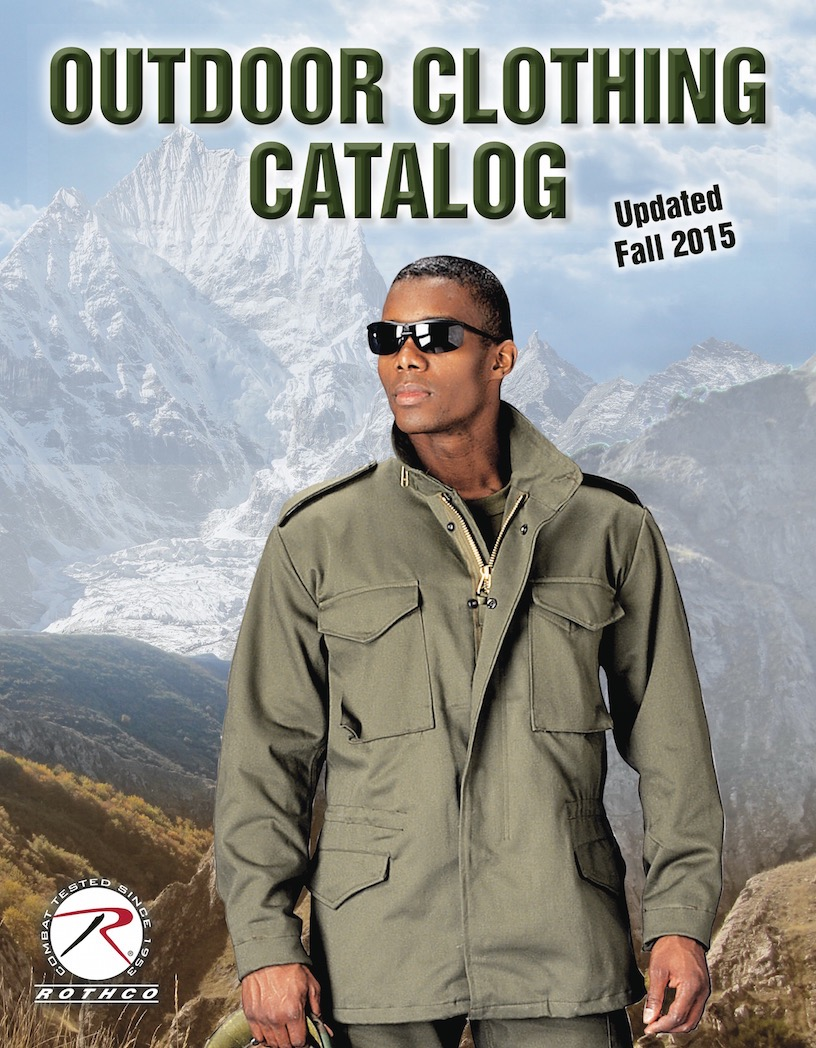 Rothco Outerwear Catalog, military jackets and tactical outerwear