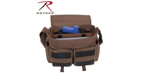 Rothco's Concealed Carry Messenger Bag Featured in Ammo Land