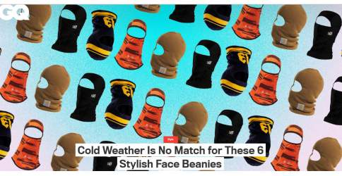 Rothco Featured In GQ: Cold Weather Is No Match for These 6 Stylish Face Beanies