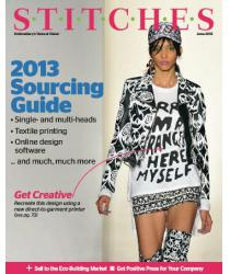 Stitches June Issue Cover