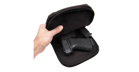 Rothco's Concealed Carry Pouch featured In Gunner Magazine