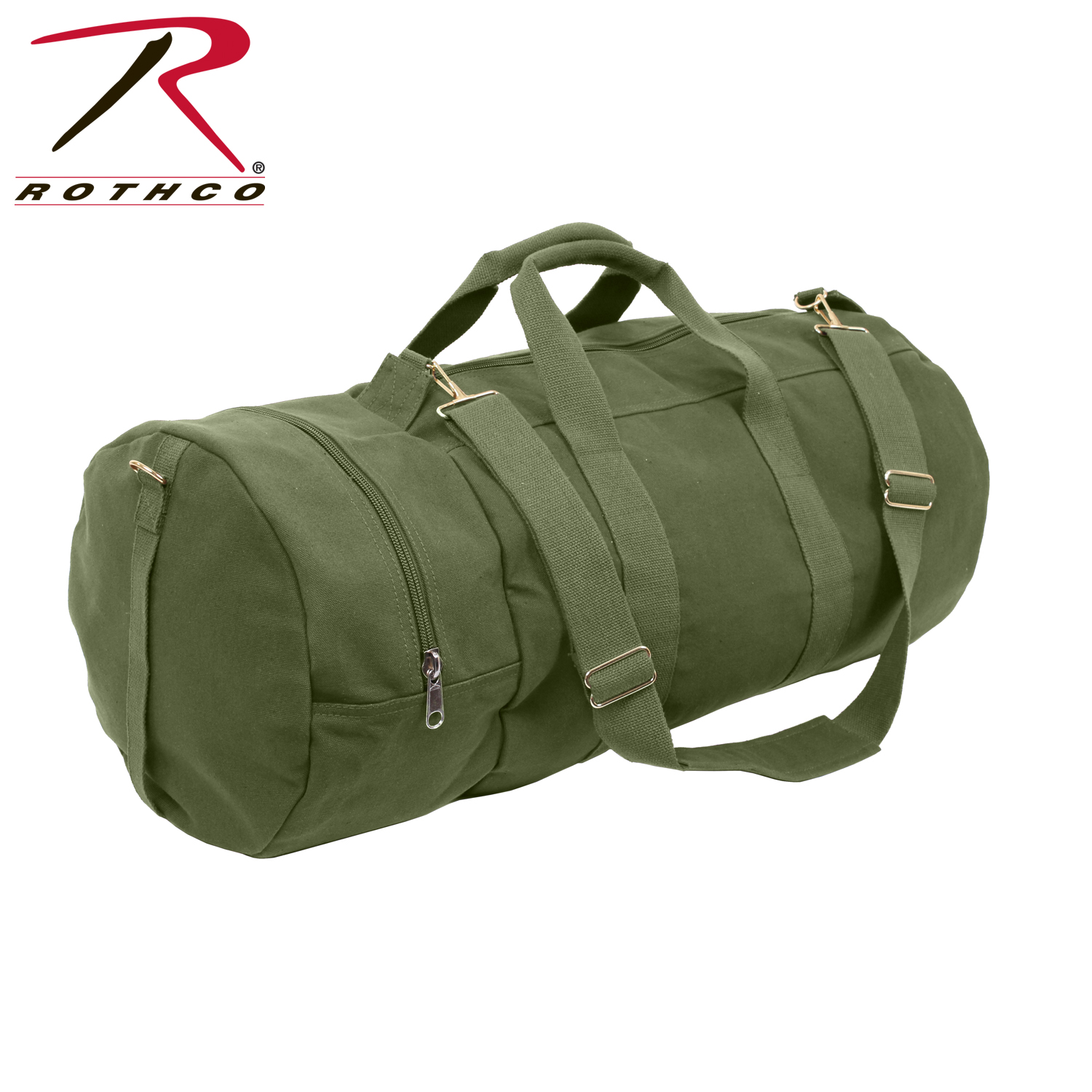 92b724129 Details about Rothco 2372 / 2373 / 2377 Canvas Double-Ender Sports Bag