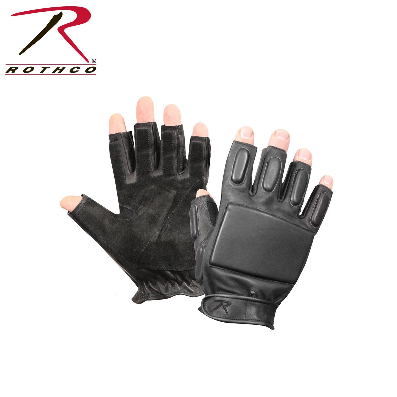 Full-Finger Rappelling Gloves in Black