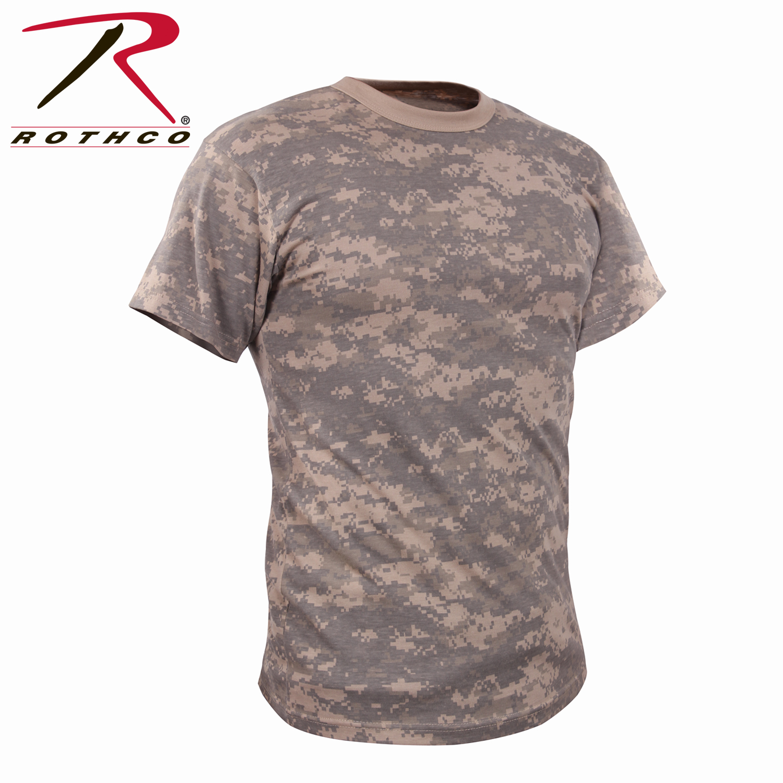 Details about Rothco 44777 Vintage Camo T-Shirts - ACU Digital Camo b79f7116aee