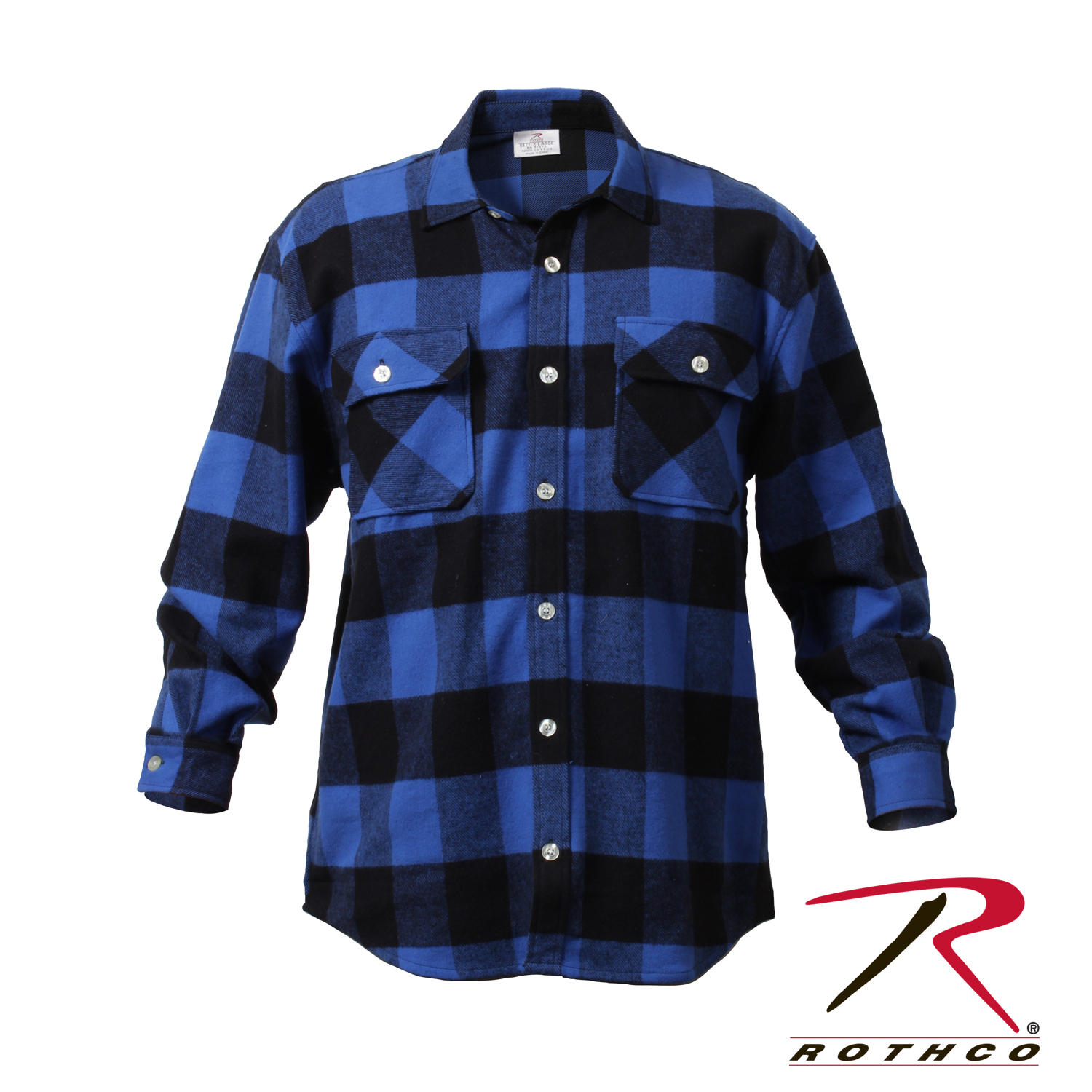 Rothco 4739 Extra Heavyweight Buffalo Plaid Flannel Shirts  cfc5f7dbb04