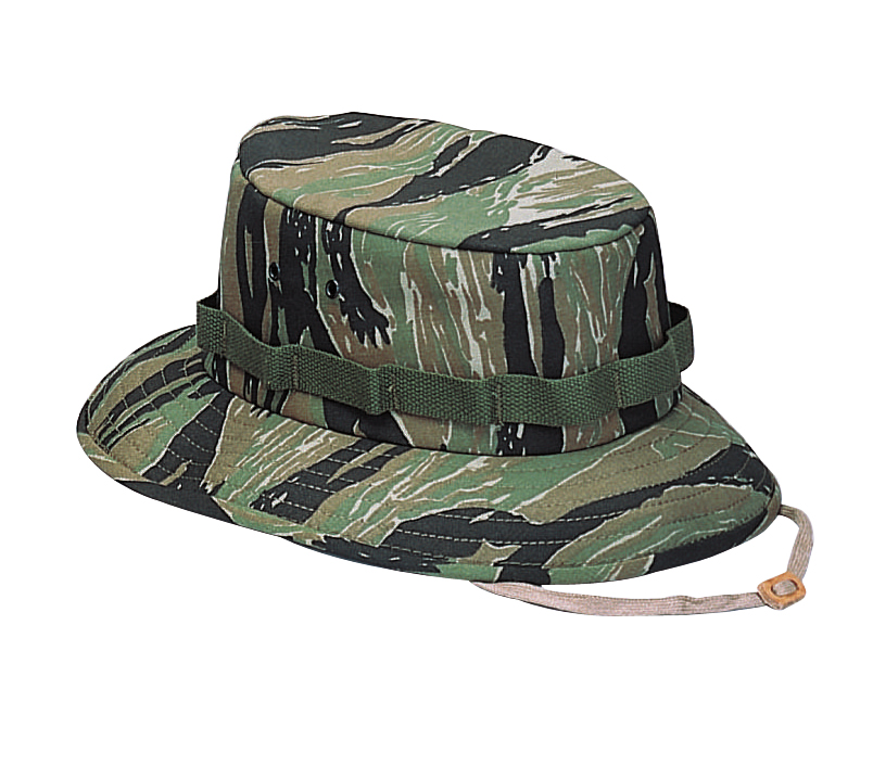 Details about Rothco 5539 Tiger Stripe Camouflage Military Jungle Hat 3cdaae9fbcd