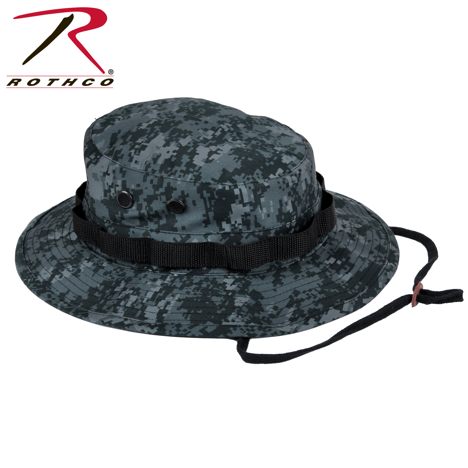 Details about Rothco 55830 Digital Camo Boonie Hat - Midnite Digital Camo b1c5b01003d4