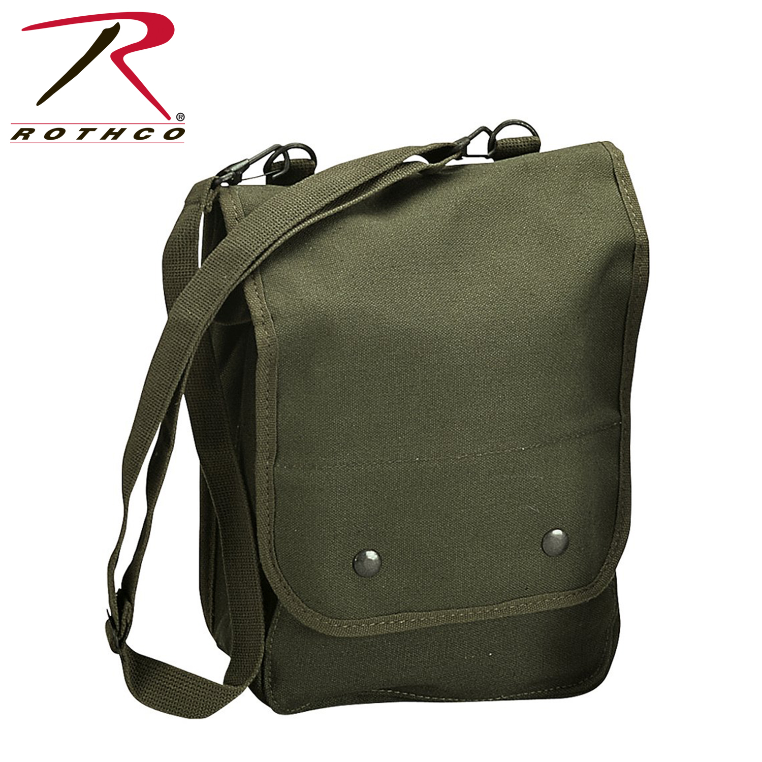 Rothco 5797   5796   5597 Canvas Map Case Shoulder Bag  748914a1bfe