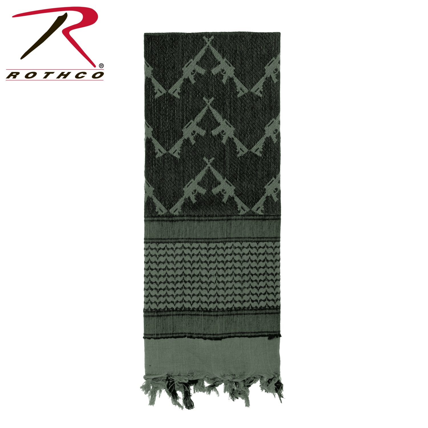 Rothco 8737 Crossed Rifles Shemagh Tactical Scarf