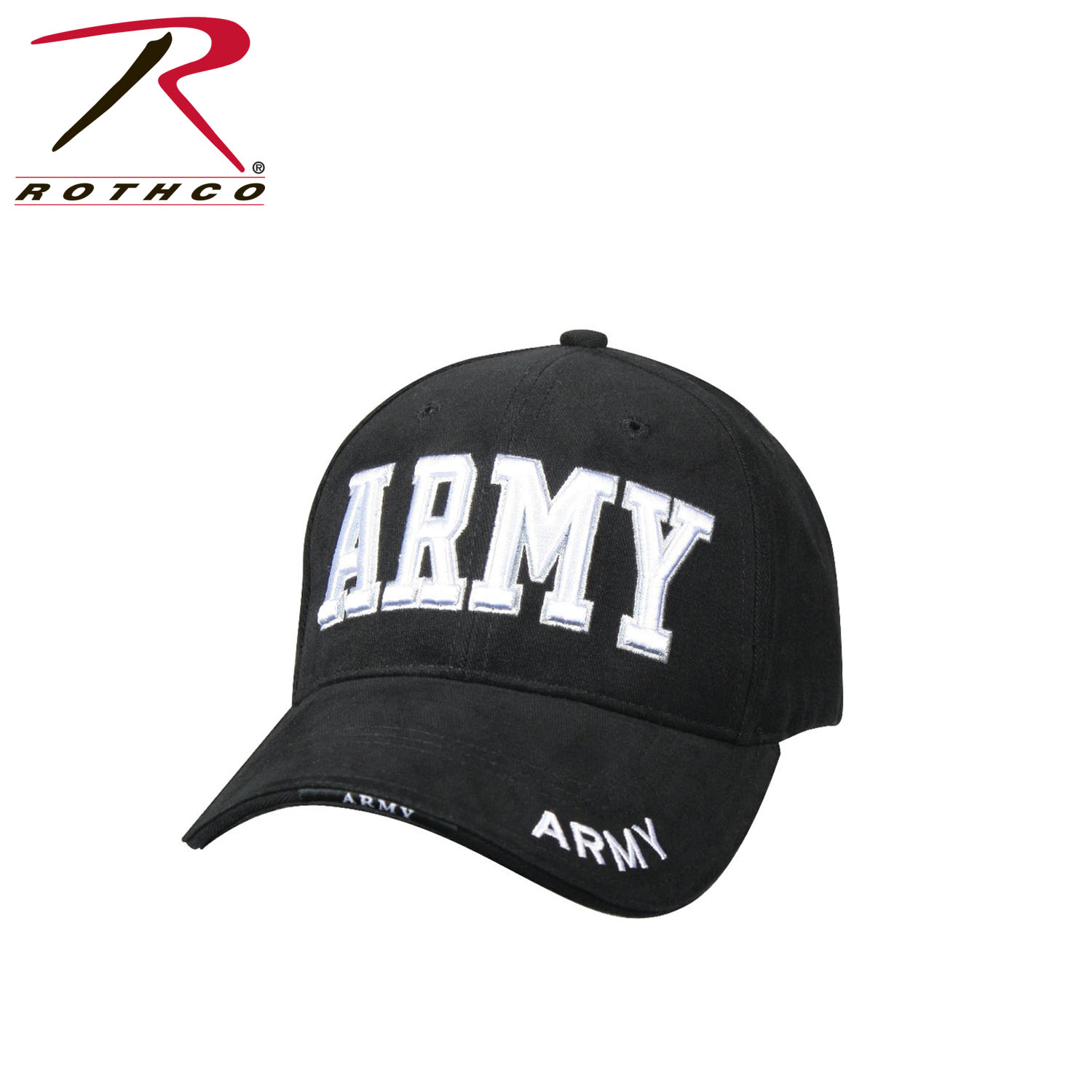 Details about Rothco 9385   9488   9485 Deluxe Army Embroidered Low Profile  Insignia Cap 05f14d13e819