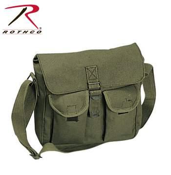 Ammo Shoulder Messenger Bag Brown 43