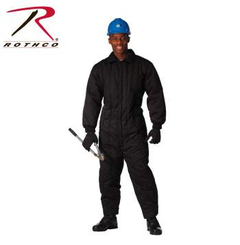 Insulated coverall, coveralls, workwear, jumpsuit, overall, work cloths, work clothing,<br />