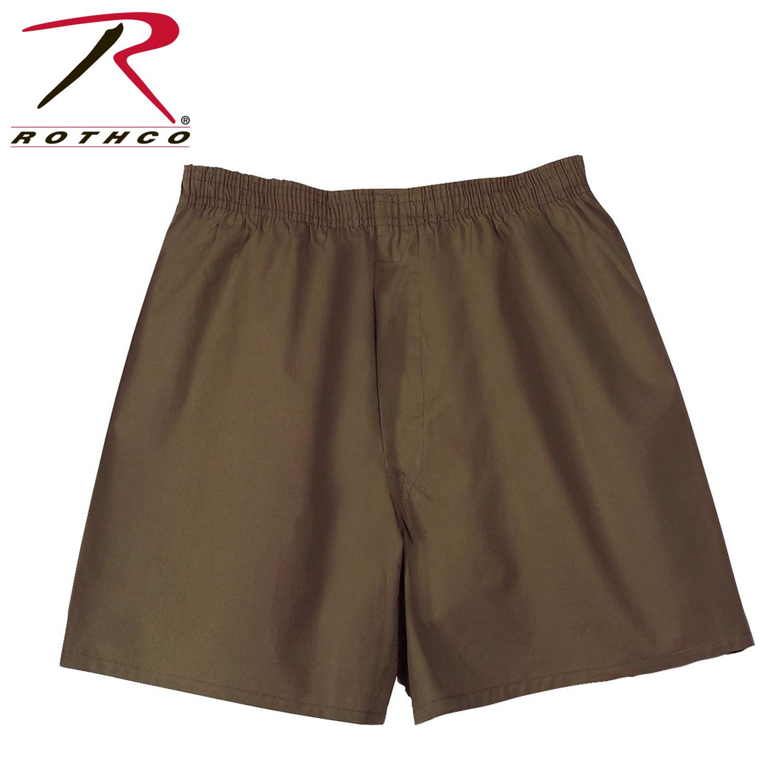 Rothco GI Type Brown Boxer Shorts 2a4c9c608fd