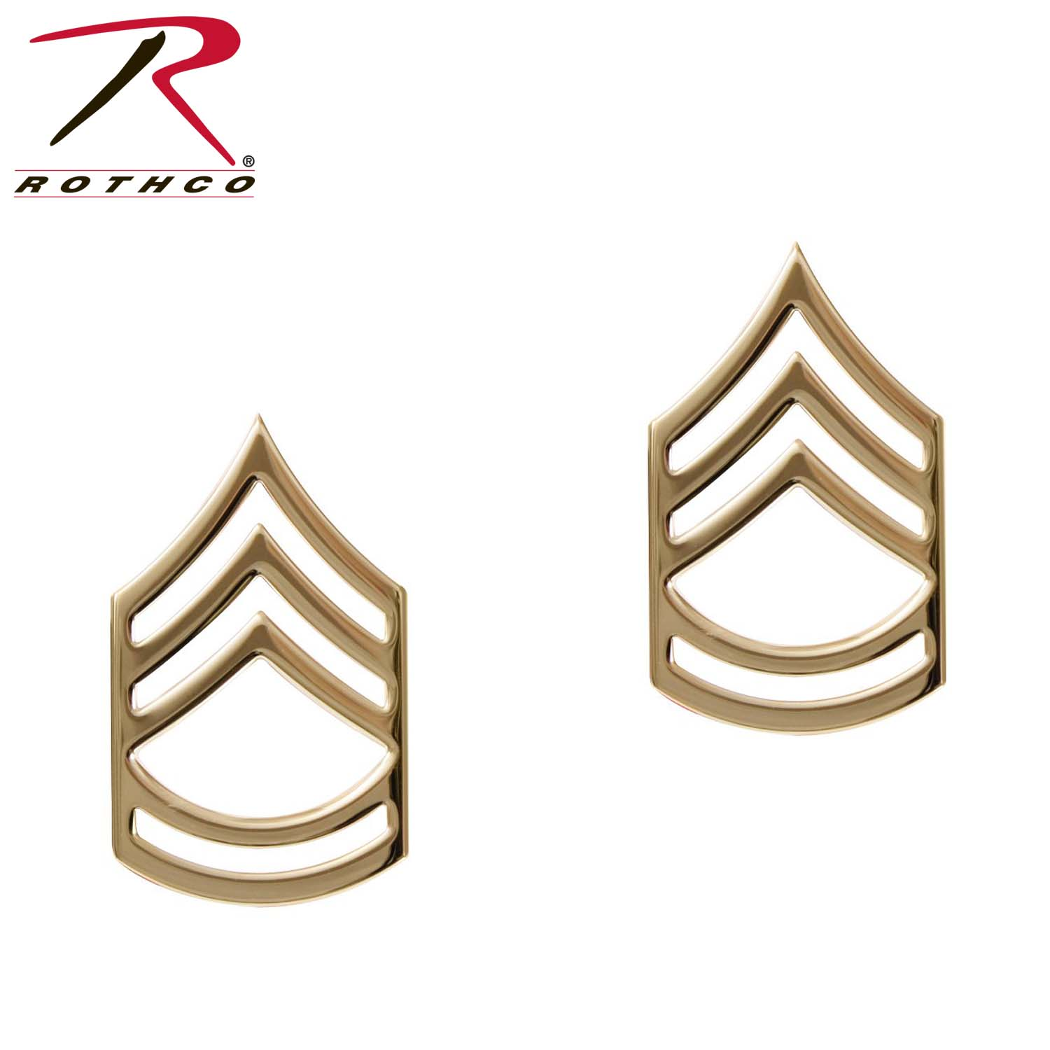 Rothco Sergeant First Class Polished Insignia