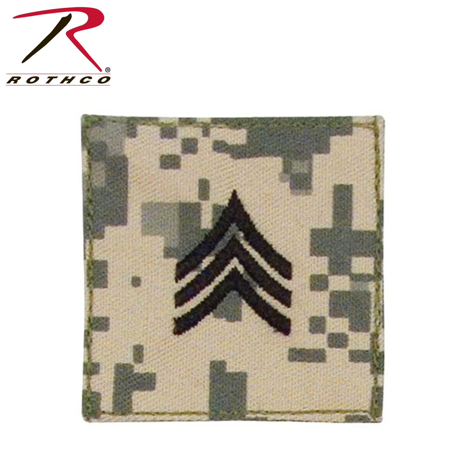 Rothco Official U S  Made Embroidered Rank Insignia - Sergeant