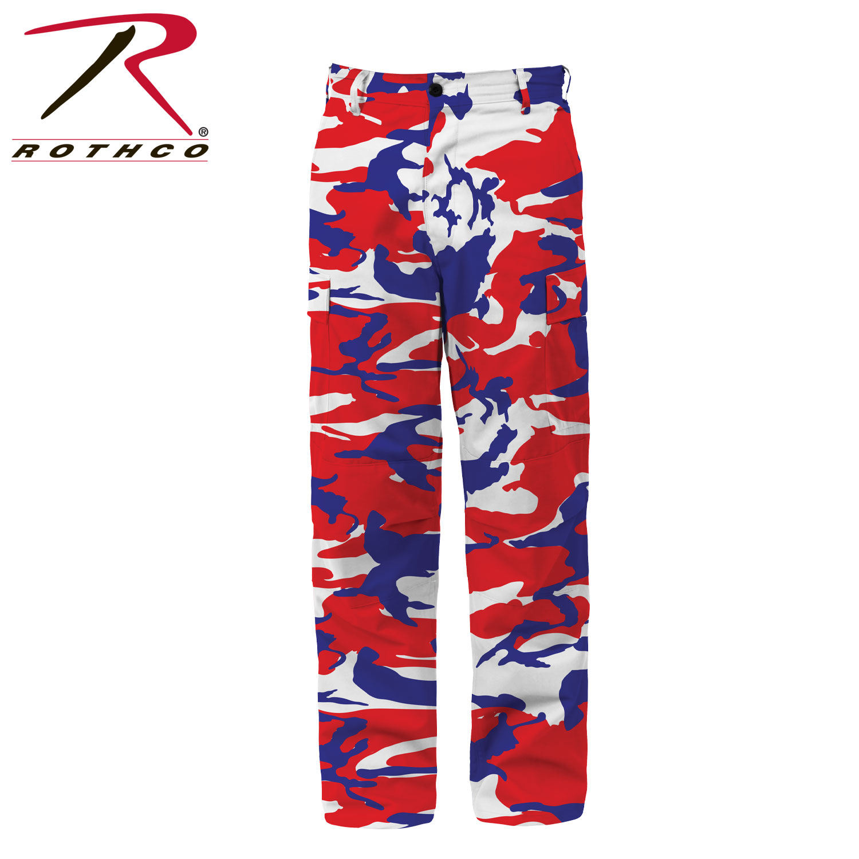 d7e8514552d Rothco Color Camo Tactical BDU Pants