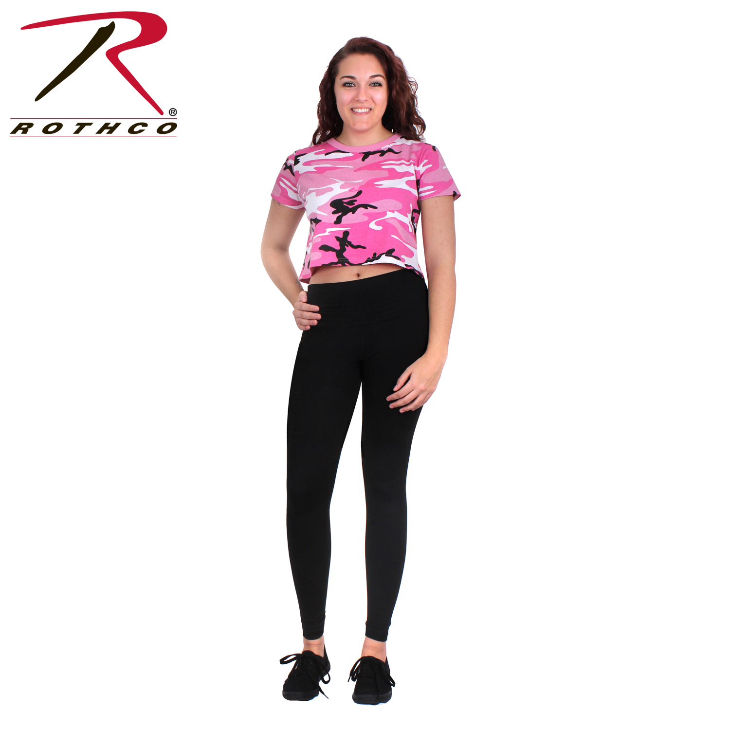 a2ec4e04537 ... camouflage crop top. Loading zoom