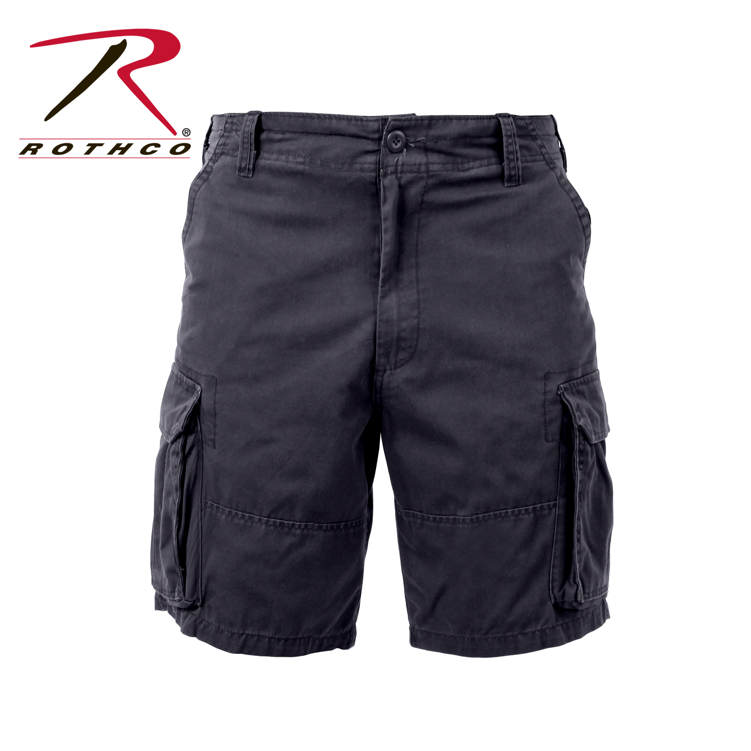 77610441a4 Rothco Vintage Solid Paratrooper Cargo Short