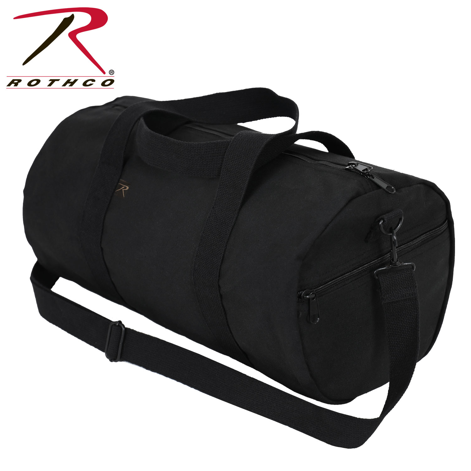 dbd7225437e1 Rothco Canvas Shoulder Duffle Bag 19 Inch