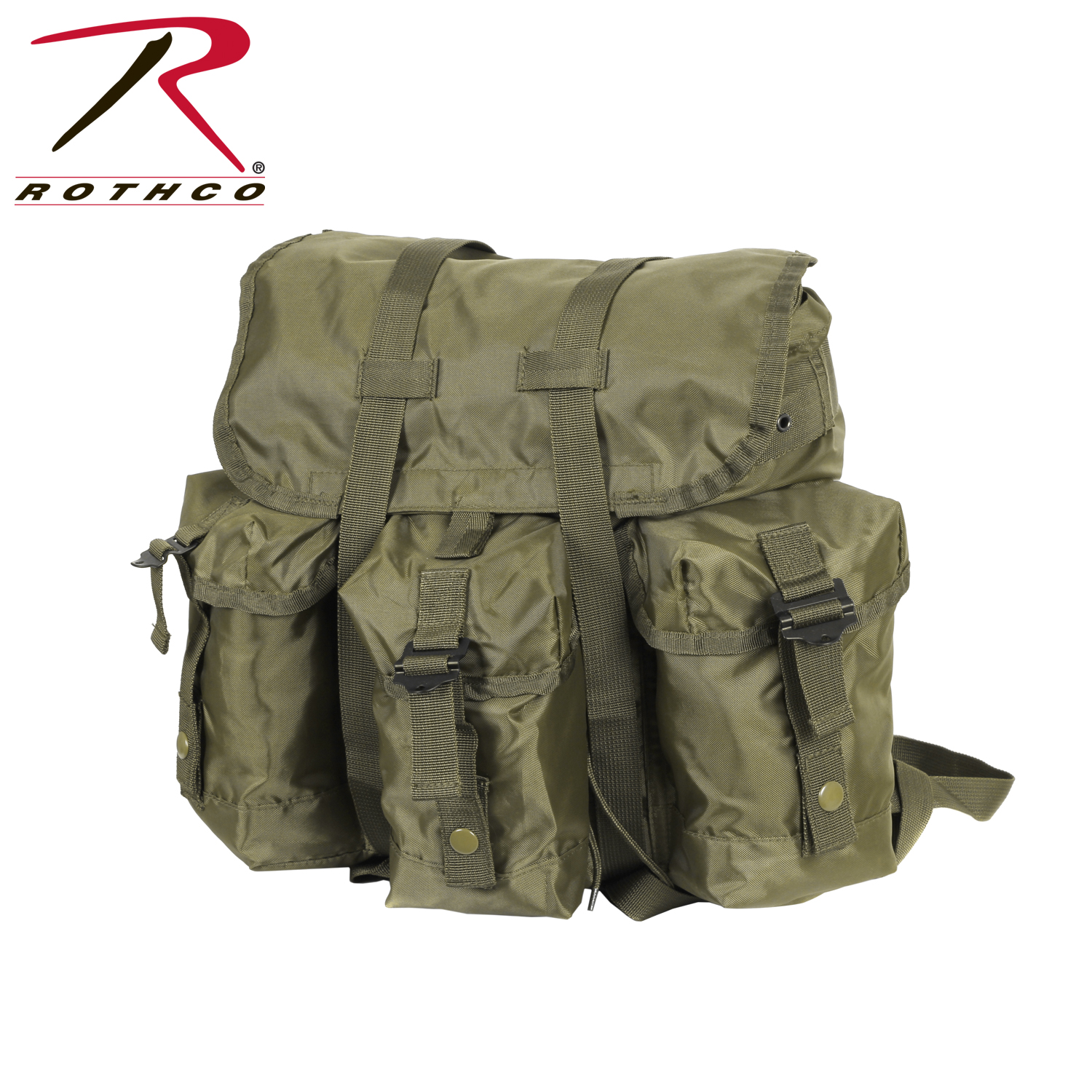 loading zoom - Military Rucksack With Frame