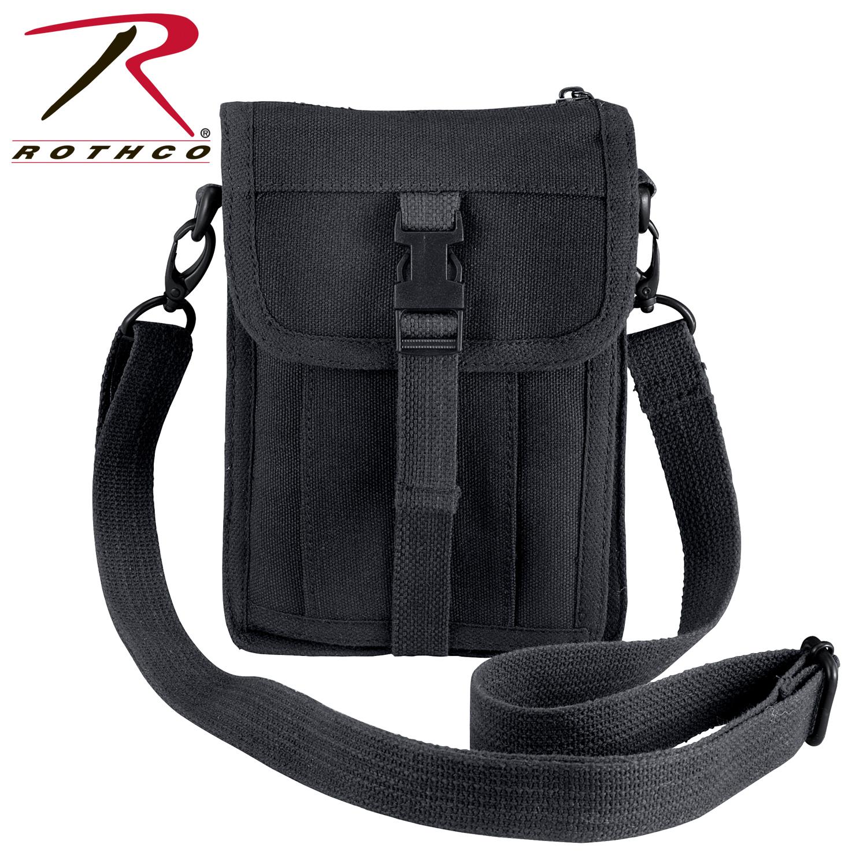 b41fa15244d8 Rothco Canvas Travel Portfolio Bag