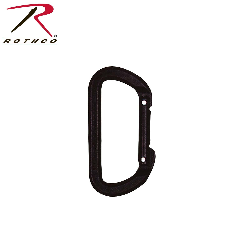 Rock climbing carabiner clips