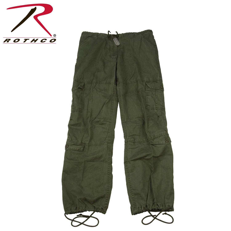 Rothco Womens Vintage Paratrooper Fatigue Pants