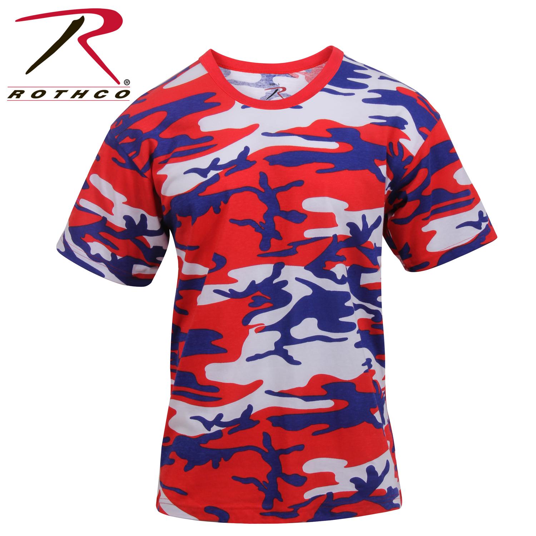 Rothco Colored Camo T-Shirts