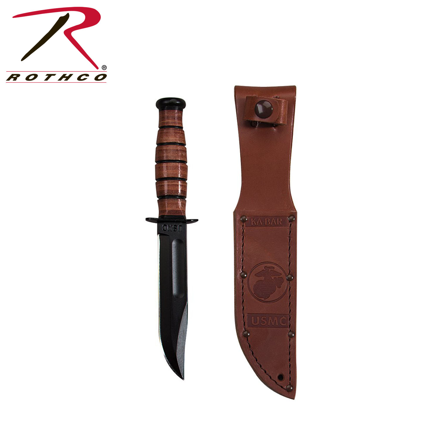 Shorty Ka-bar USMC Fighting Knife