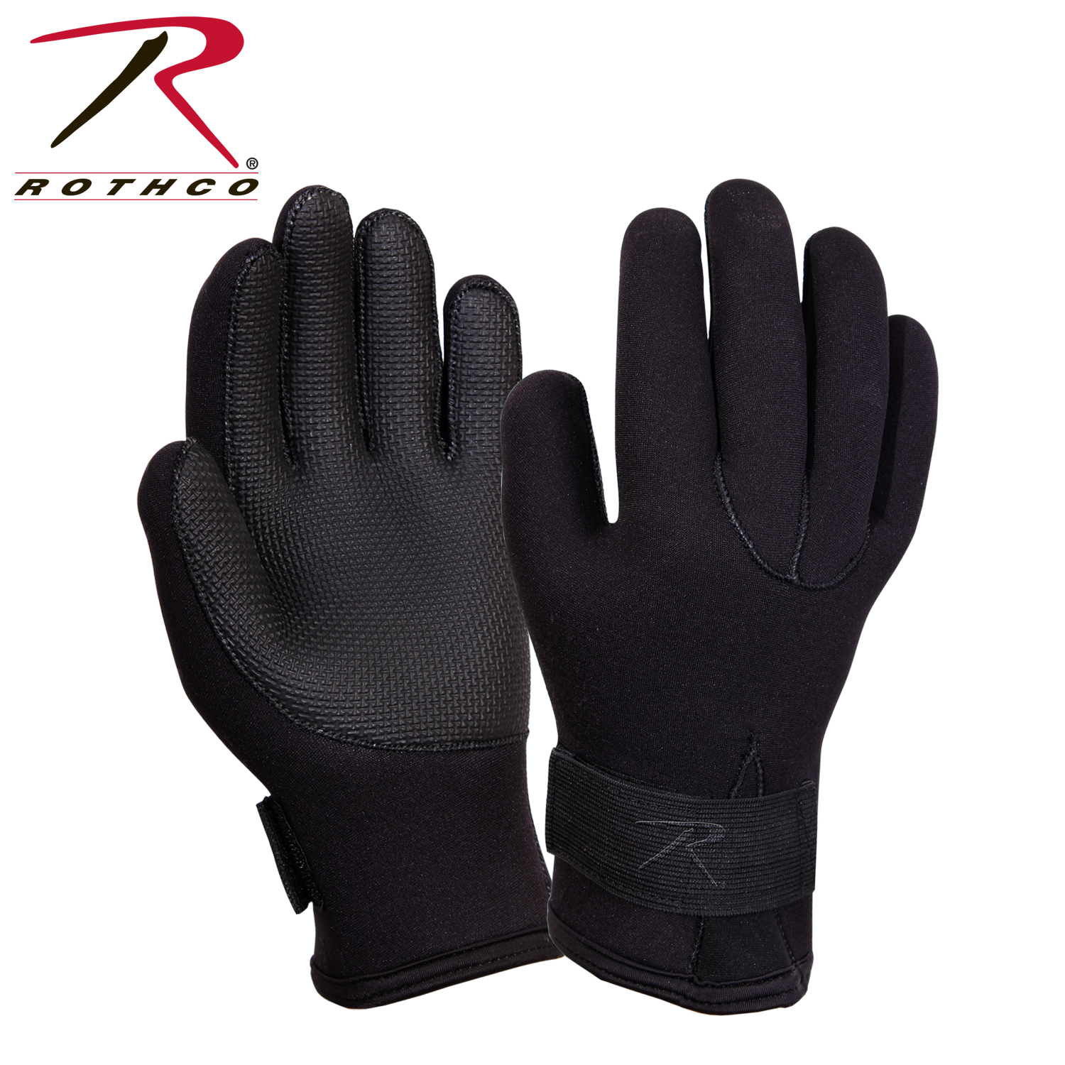 Rothco waterproof cold weather neoprene gloves for Winter fishing gloves