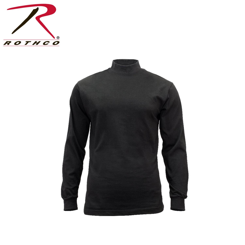 Rothco mock turtleneck for Mock crew neck shirts
