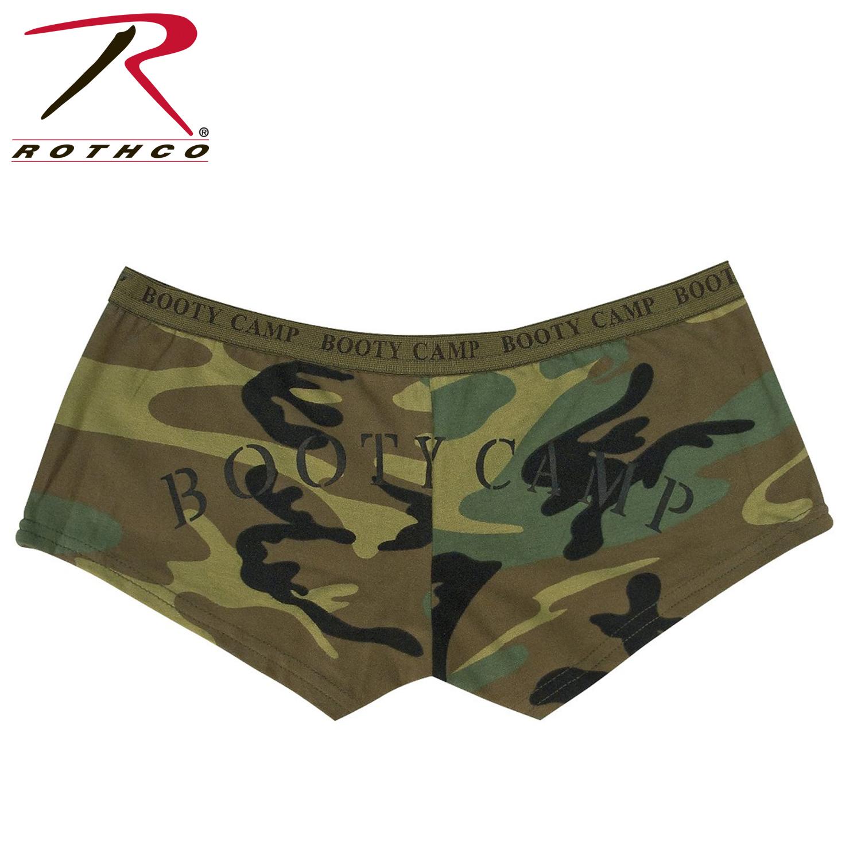 34dbec60e183c Rothco Woodland Camo Booty Camp Shorts